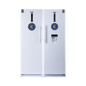 یخچال و فریزر دو قلو یورو استار مدل EYP-19