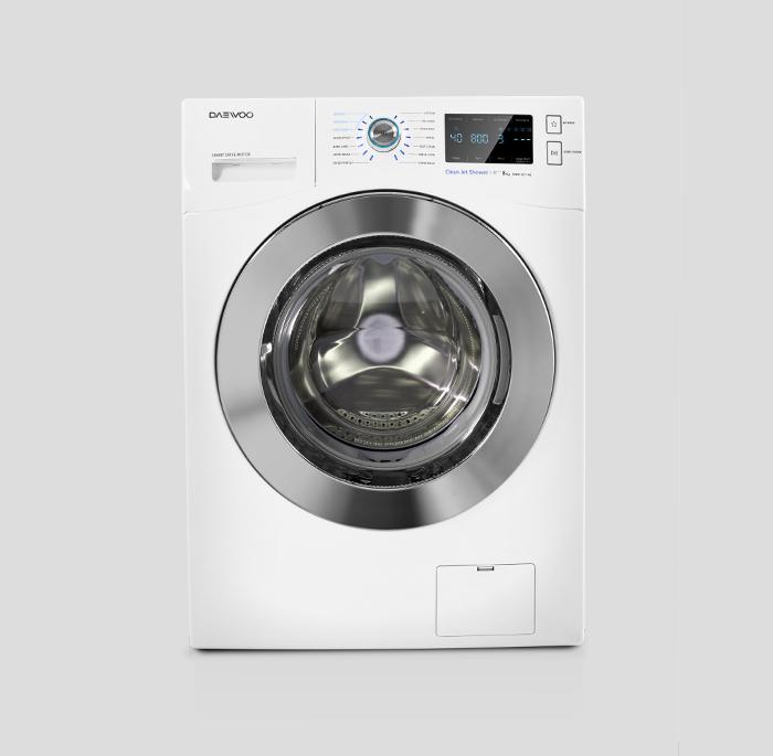 ماشین لباسشویی سفید دوو سری پریمو مدل DWK-PRIMO82